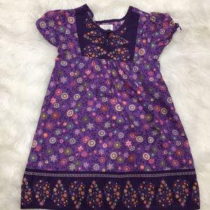 Children's Place Purple Summer Dress Size 4T